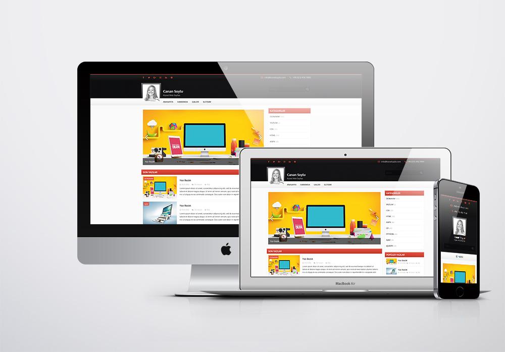 Kişisel Web Sitesi Paketi - 1